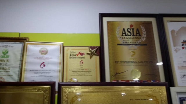 Asia Award and Certification