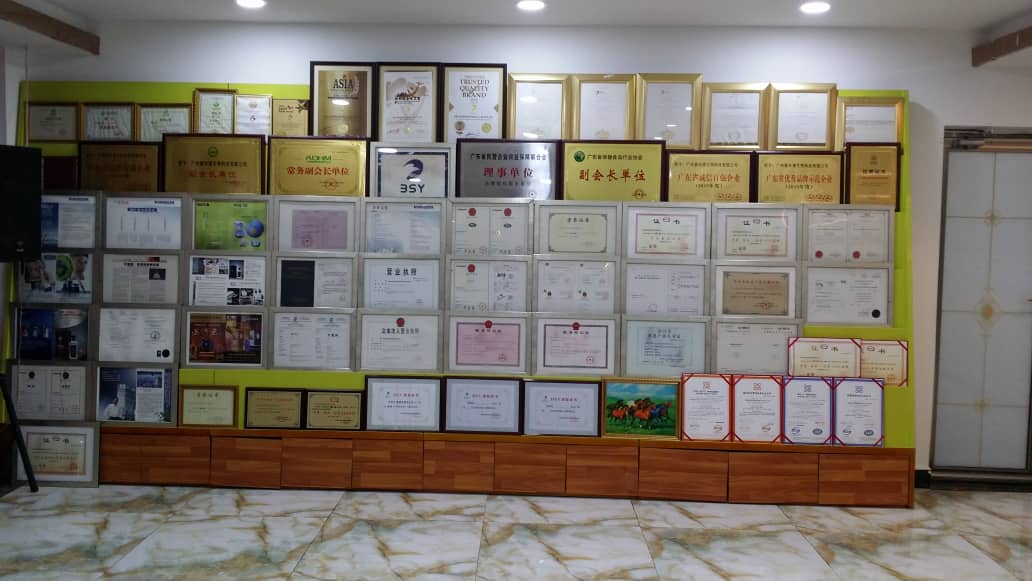 BSY Award and Certification Wall