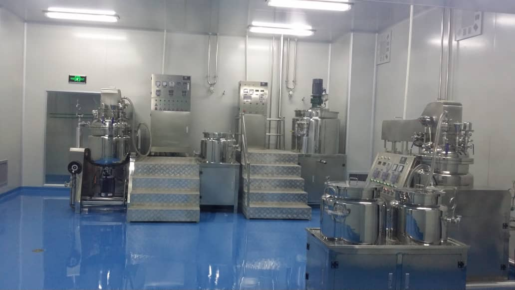 BSY Bio-Tech Co. Ltd Factory Machine